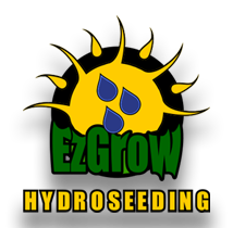 EzGrow Landscape & Hydroseeding Logo